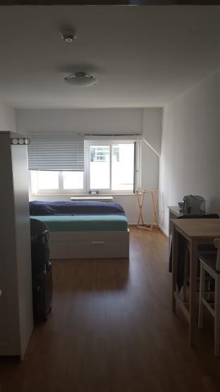 zentrale 1 zimmer wohnung in frankfurt 1 zimmer wohnung. Black Bedroom Furniture Sets. Home Design Ideas