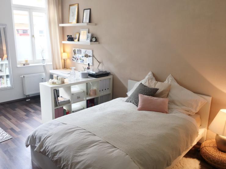 dresden neustadt h bsches m bliertes 18qm zimmer in 2er wg zur zwischenmiete wg zimmer in. Black Bedroom Furniture Sets. Home Design Ideas