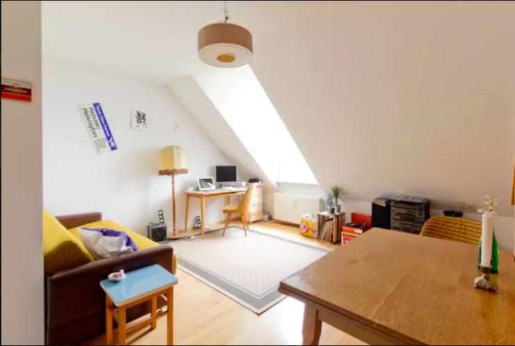 top lage h bsche maisonette wohnung auf dem petersberg perfekt f r singles 1 zimmer wohnung. Black Bedroom Furniture Sets. Home Design Ideas