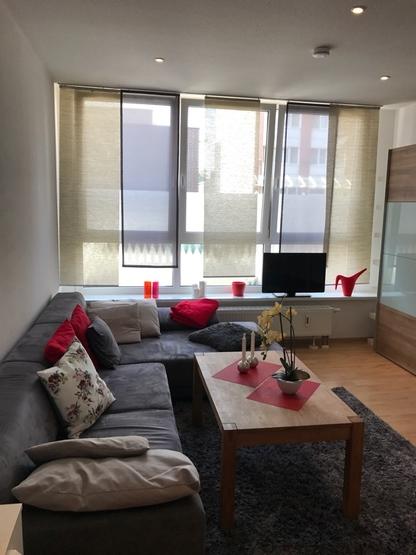 helle moderne 1 zimmerwohnung in top lage voll ausgestattet 1 zimmer wohnung in mannheim. Black Bedroom Furniture Sets. Home Design Ideas