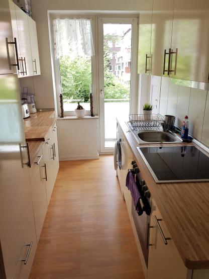 sch ne m blierte wohnung in bester lage zur zwischenmiete 1 zimmer wohnung in hamburg hamm nord. Black Bedroom Furniture Sets. Home Design Ideas