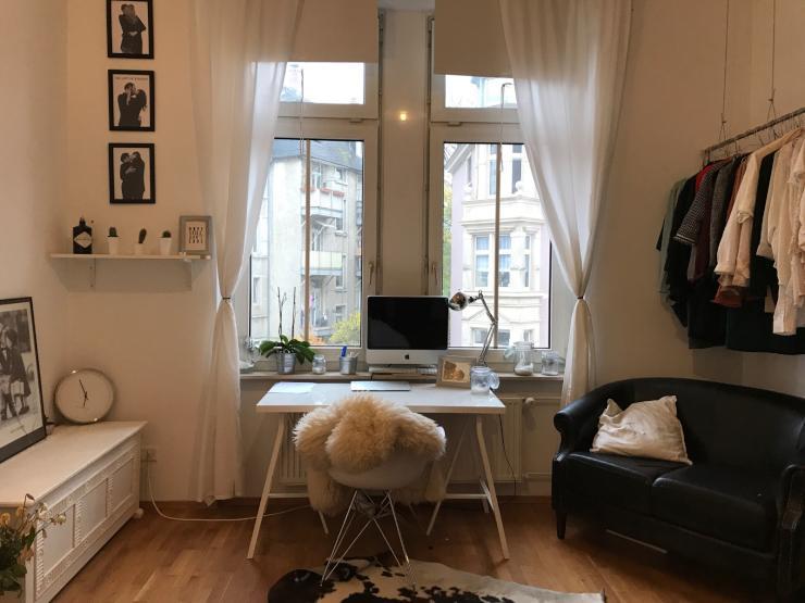 m bliertes zimmer frisch sanierter altbau sachsenhausen wg zimmer in frankfurt am main. Black Bedroom Furniture Sets. Home Design Ideas
