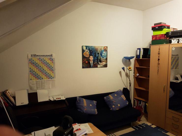 g nstige wohnung in bester lage zur uni 1 zimmer wohnung. Black Bedroom Furniture Sets. Home Design Ideas