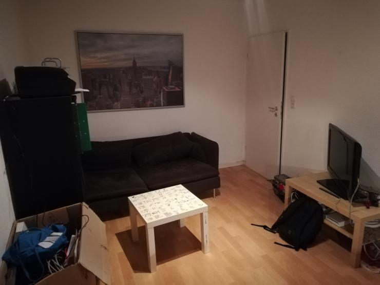 g nstige m blierte 1 zimmer wohnung in zentraler und ruhiger lage zur zwischenmiete 1 zimmer. Black Bedroom Furniture Sets. Home Design Ideas