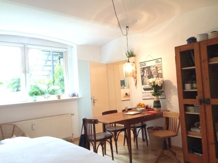sch ne souterrainwohnung f r eine weibliche nachmieterin. Black Bedroom Furniture Sets. Home Design Ideas