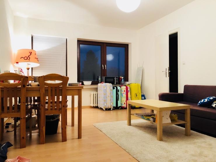 sch ne vollm blierte 1 5 zimmer wohnung mit k che und. Black Bedroom Furniture Sets. Home Design Ideas