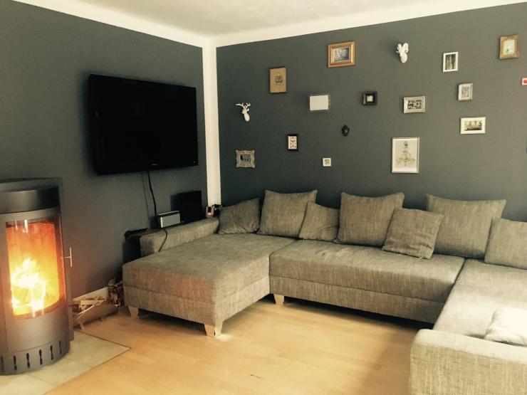 wundersch nes h uschen in m nchen mit garten und kamin zur zwischenmiete haus in m nchen laim. Black Bedroom Furniture Sets. Home Design Ideas