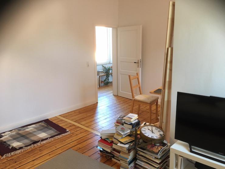 gro es gem tliches zimmer in ruhiger naturnaher umgebung. Black Bedroom Furniture Sets. Home Design Ideas