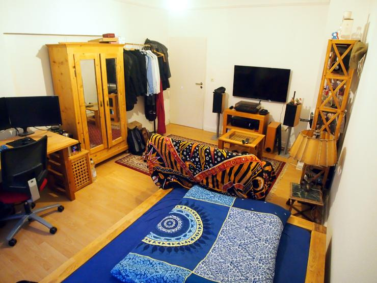 ger umiges 18qm zimmer in super lage wgs in frankfurt am main ostend. Black Bedroom Furniture Sets. Home Design Ideas