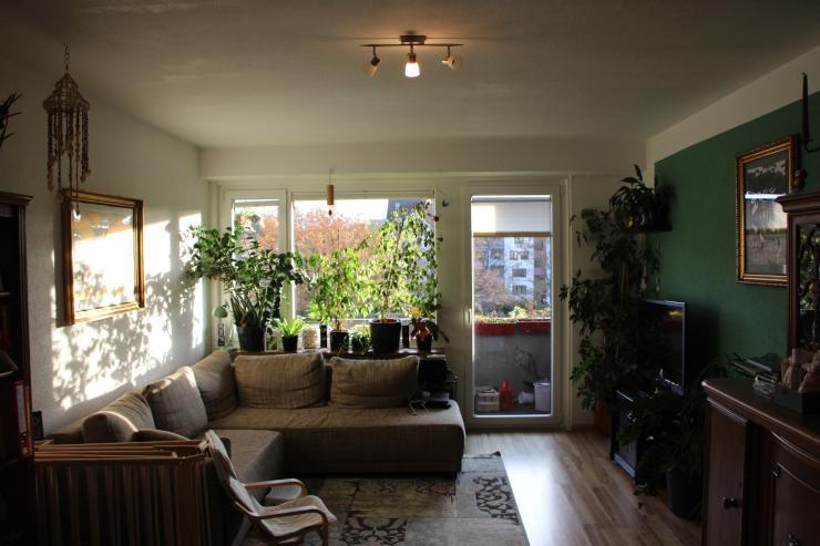 3 Zimmer Wohnung Mit Grossem Balkon Und Einbaukuche In Karlsruhe
