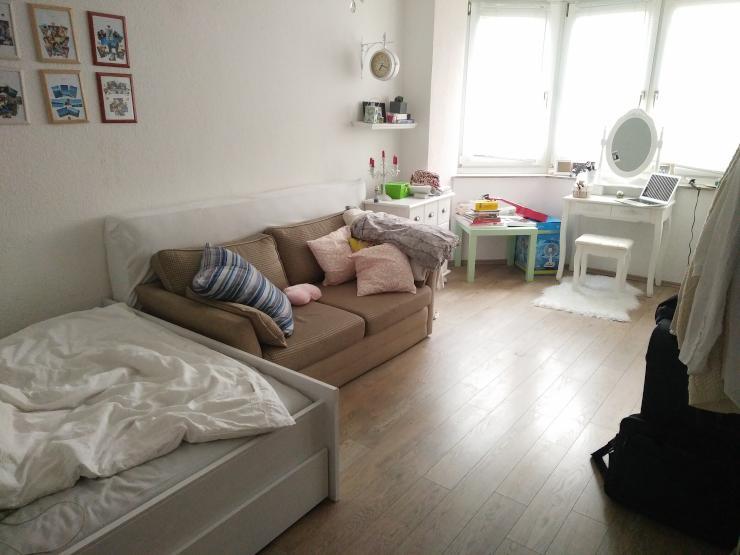 sch ne 1 zimmer wohnung in sehr guter lage 1 zimmer. Black Bedroom Furniture Sets. Home Design Ideas