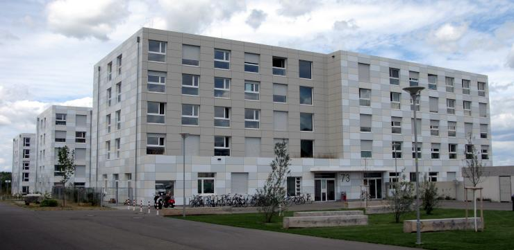 einzel zimmer in campus studentinwohnheim 1 zimmer wohnung in freiburg im breisgau stadt. Black Bedroom Furniture Sets. Home Design Ideas
