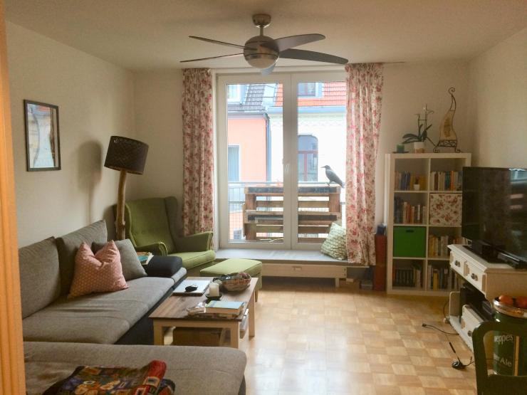 gem tliche 2 zimmer wohnung im belgischen viertel zum. Black Bedroom Furniture Sets. Home Design Ideas