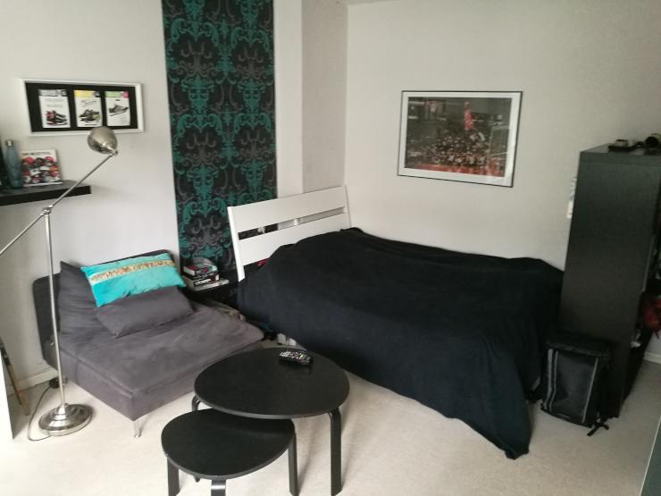 ruhige einzimmerwohnung an der holtenauer stra e 1 zimmer wohnung in kiel brunswik. Black Bedroom Furniture Sets. Home Design Ideas