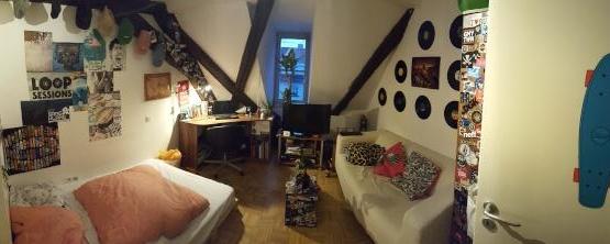 u erst gem tliches zimmer in bester lage mit entspannten mitbewohnern wg in regensburg. Black Bedroom Furniture Sets. Home Design Ideas