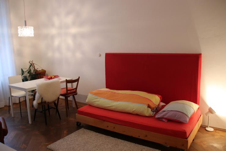 wohnungs sharing f r wochenendpendler 1 zimmer wohnung in m nchen maxvorstadt. Black Bedroom Furniture Sets. Home Design Ideas