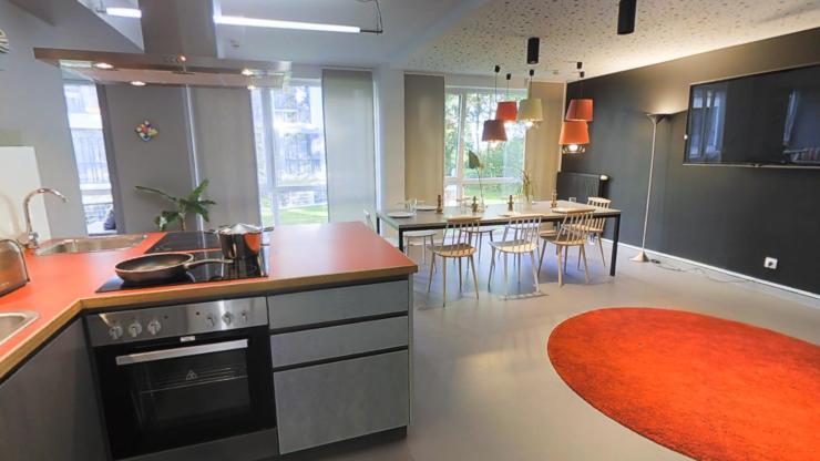 lovely studio at the fizz residence near universit t 1 zimmer wohnung in bremen lehe. Black Bedroom Furniture Sets. Home Design Ideas