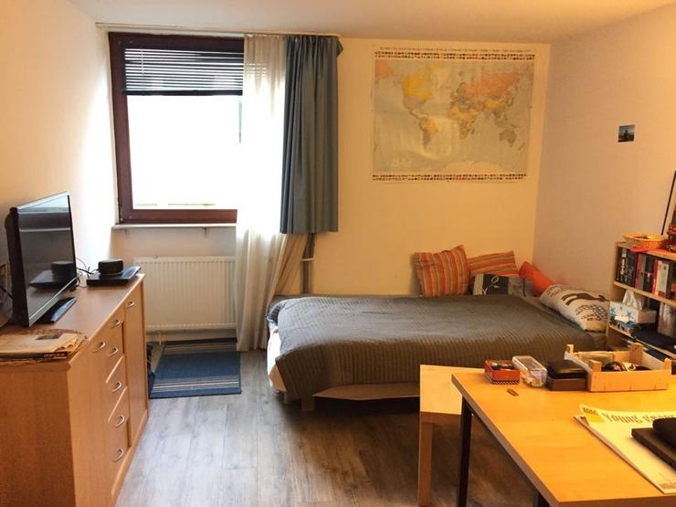 gepflegtes 1 zimmer apartment in unmittelbarer uni n he sucht studentin 1 zimmer wohnung in. Black Bedroom Furniture Sets. Home Design Ideas