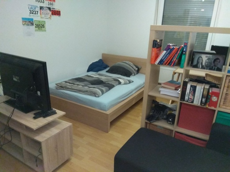 helles 16qm zimmer in netter 3er wg westenviertel wgs regensburg westenviertel. Black Bedroom Furniture Sets. Home Design Ideas