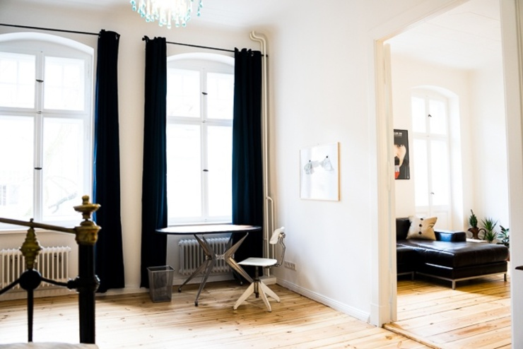 2 zimmer designer wohnung 70qm neu renovierter altbau mit balkon neuk lln kreuzberg weserstr. Black Bedroom Furniture Sets. Home Design Ideas