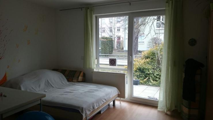 kleine gem tliche wohnung auf zwischenmiete 1 zimmer wohnung in dresden s dvorstadt. Black Bedroom Furniture Sets. Home Design Ideas