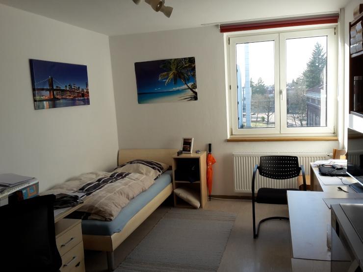 m blierte 20 m 1 zimmerwohnung in studentenwohnheim zur zwischenmiete 1 zimmer wohnung in. Black Bedroom Furniture Sets. Home Design Ideas