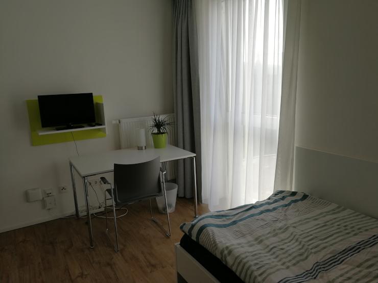 studentenapartment im neubauwohnheim am berliner ring wohnung in w rzburg altstadt. Black Bedroom Furniture Sets. Home Design Ideas