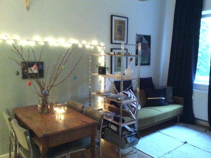 stilvolle teilm blierte 1 5 zimmer wohnung mit ebk in. Black Bedroom Furniture Sets. Home Design Ideas