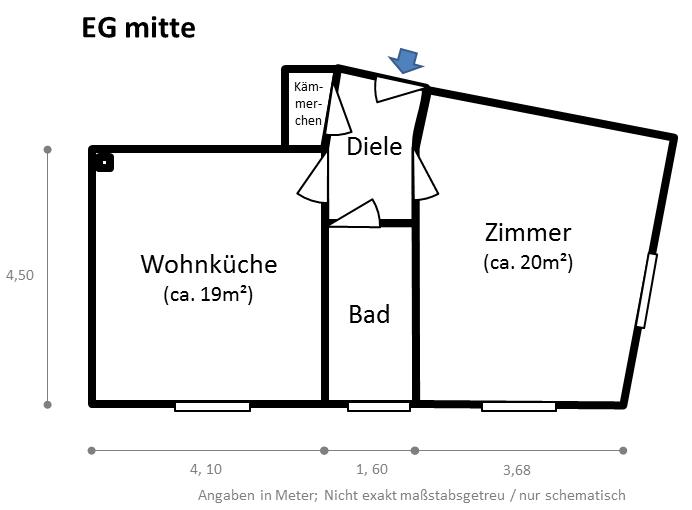 modernisierte single wohnung in r ttenscheid sofort bezugsf hig 1 zimmer wohnung in essen. Black Bedroom Furniture Sets. Home Design Ideas