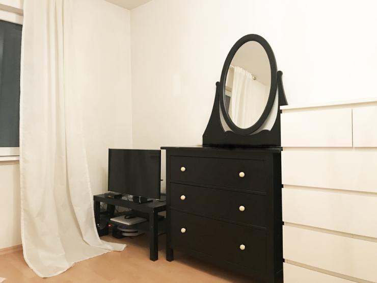 m blierte 1 zimmer wohnung f r 6 monate oder l nger zu vermieten 1 zimmer wohnung in frankfurt. Black Bedroom Furniture Sets. Home Design Ideas
