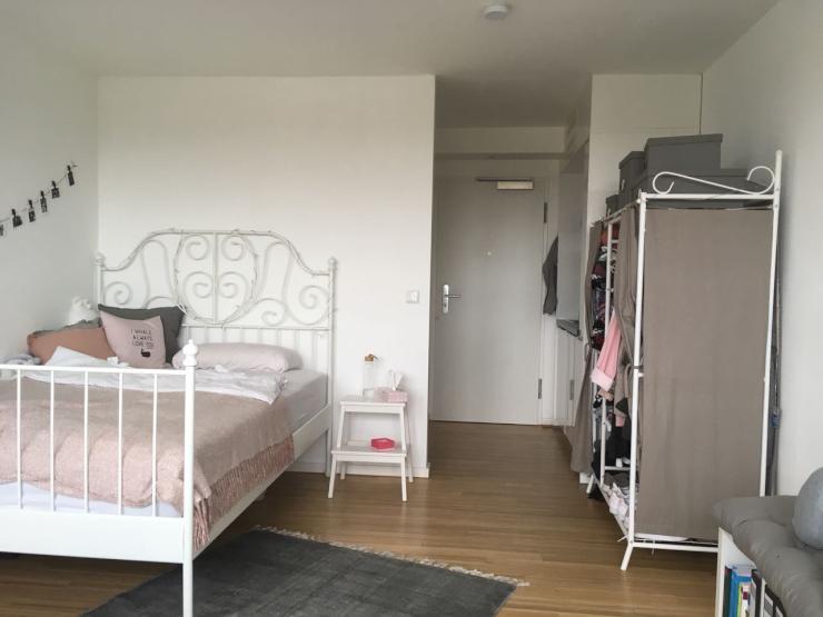 moderne 1 zimmer wohnung mit guter nahverkehrs anbindung 1 zimmer wohnung in regensburg. Black Bedroom Furniture Sets. Home Design Ideas