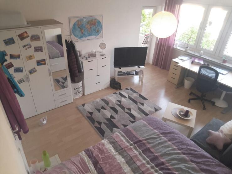 nette mitbewohnerin f r wg mit balkon gesucht zentral 19qmzimmer zimmer m bliert neu ulm zentrum. Black Bedroom Furniture Sets. Home Design Ideas