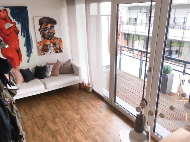 mini loft f r zwischenmiete 1 zimmer wohnung in gie en. Black Bedroom Furniture Sets. Home Design Ideas