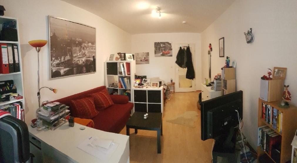 kleines feines nest abzugeben 1 zimmer wohnung in m nchen schwanthalerh he laim. Black Bedroom Furniture Sets. Home Design Ideas