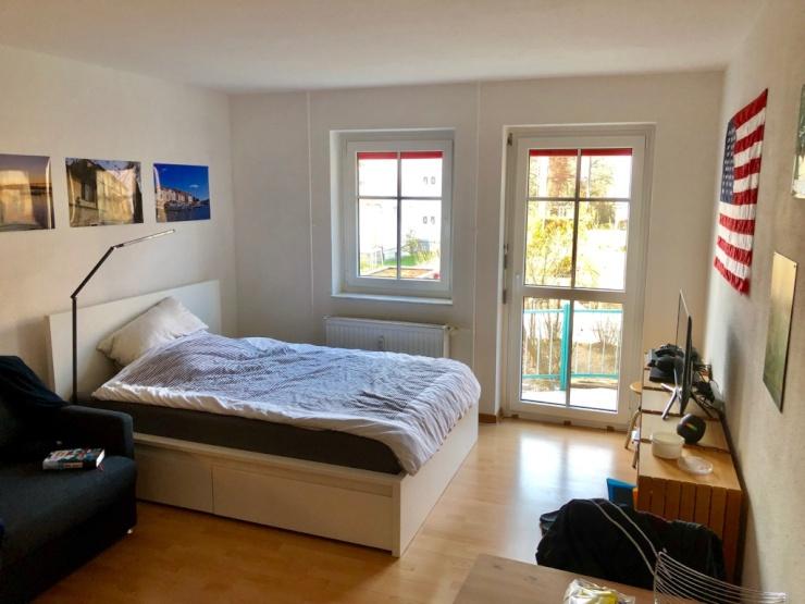 1 zimmerwohnung ruhig und zentral zwischenmiete 1 zimmer wohnung in konstanz petershausen. Black Bedroom Furniture Sets. Home Design Ideas