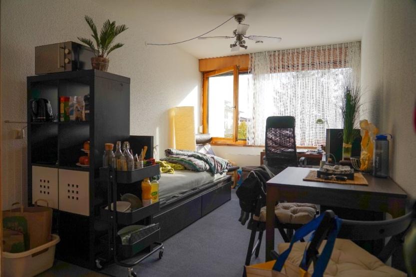 M bliertes 1 zimmer wohnung mit zentraler lage zur for Wohnung zur zwischenmiete