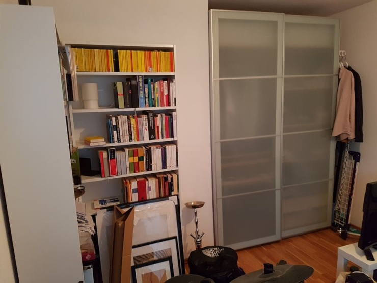 sch ne einzimmerwohnung in der neustadt 1 zimmer wohnung in mainz mainz. Black Bedroom Furniture Sets. Home Design Ideas