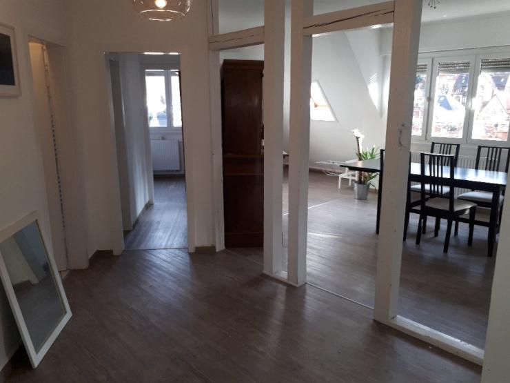 m blierte wohnung u bahn bihlplatz vor der t re 700 warm wohnung in stuttgart s d. Black Bedroom Furniture Sets. Home Design Ideas