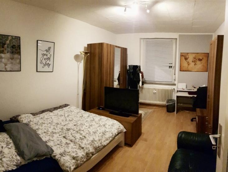 Perfekt f r studenten sch ne 1 zimmer wohnung in toller for Wohnung zur zwischenmiete
