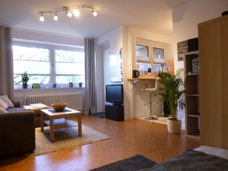 1 Zimmer Wohnung Hamburg